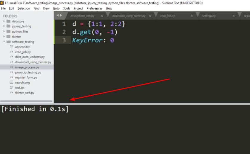 """Key Error: 0"""" Python with a Dictionary"""
