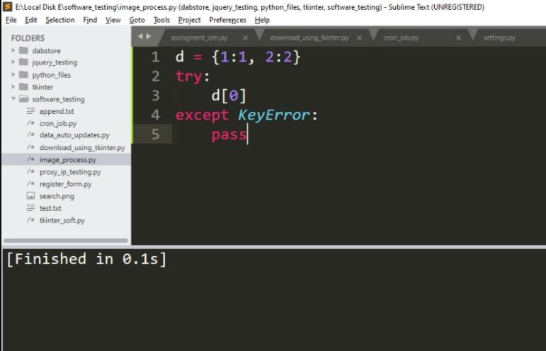 """Fix """"Key Error: 0"""" Python with a Dictionary"""