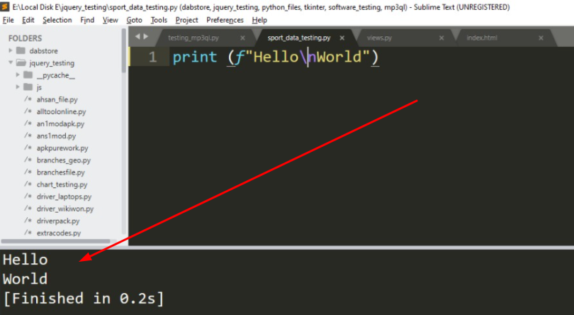 \n Means in Python Programming