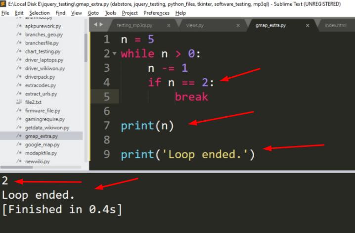 """Break """"While"""" Loop in Python"""